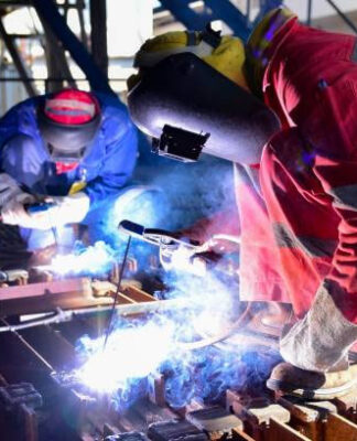 What boots are suitable for welding